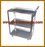 3-SHELF SERVICE CART (STAINLESS)